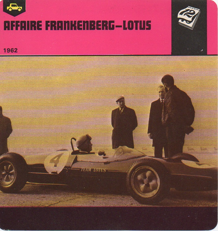 Affaire frankenberg lotus 2