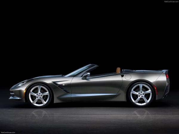 Chevrolet corvette c7 stingray convertible 2014 1600x1200 wallpaper 14