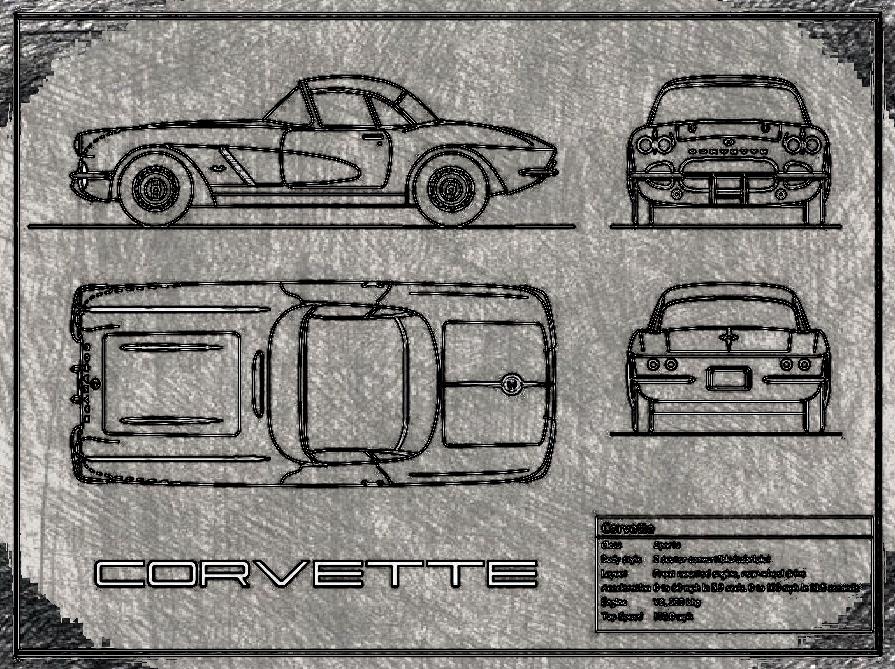 Corvette cote pratique