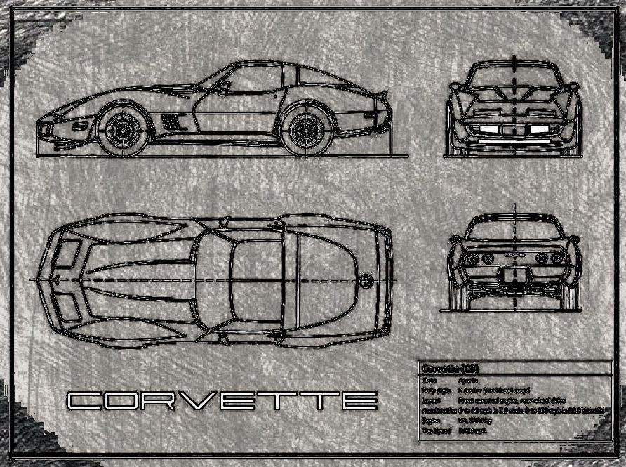 Corvette technick