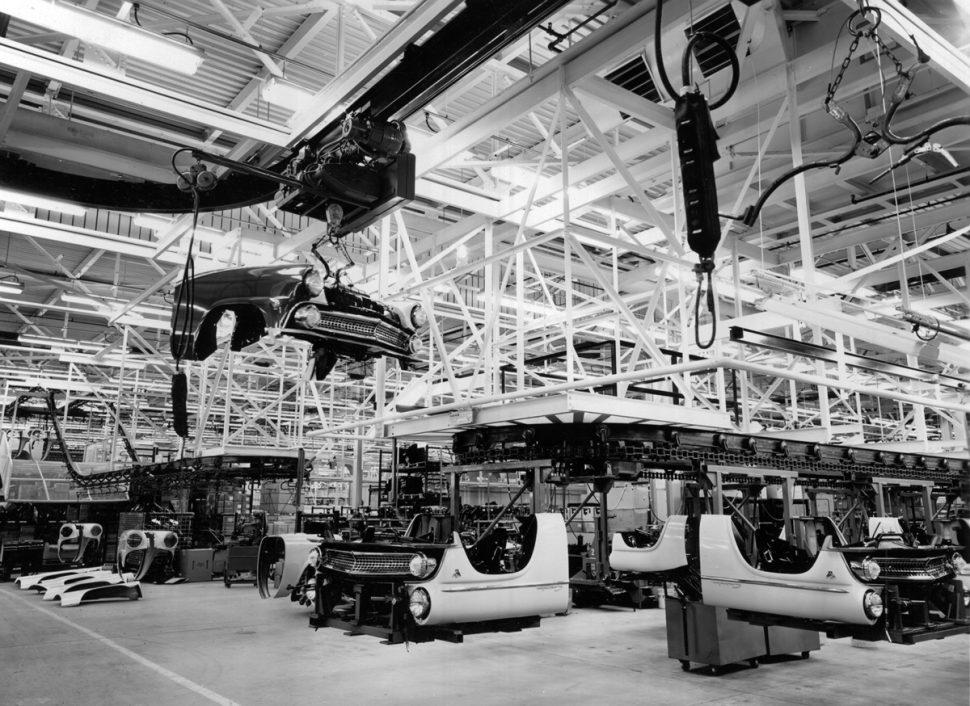 Ford san jose assembly 1955