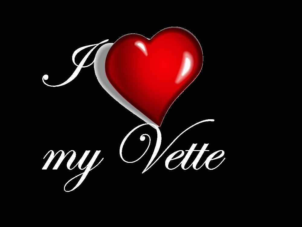 I love my vette 1