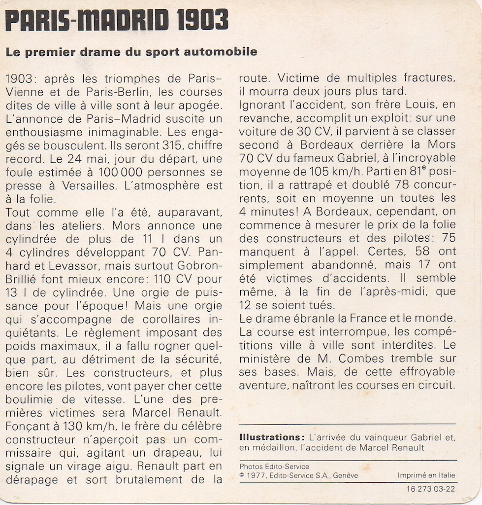 Paris madrid 1903 1