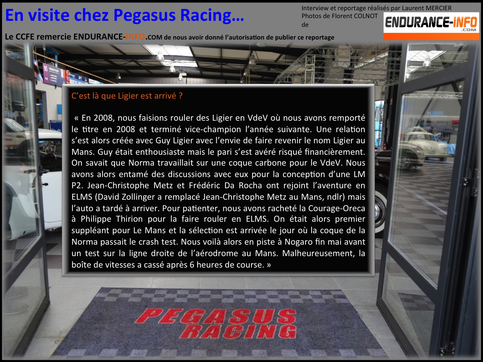 Pegasus racing 11