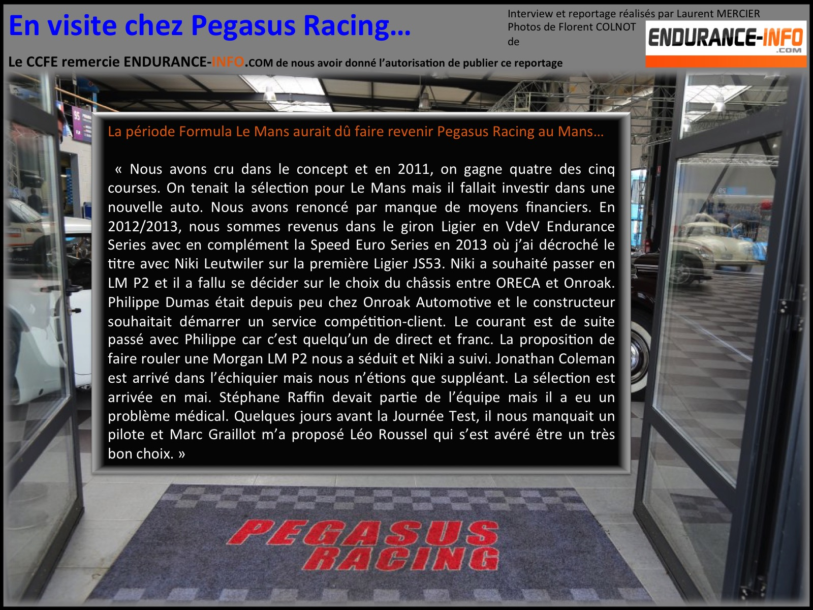 Pegasus racing 12