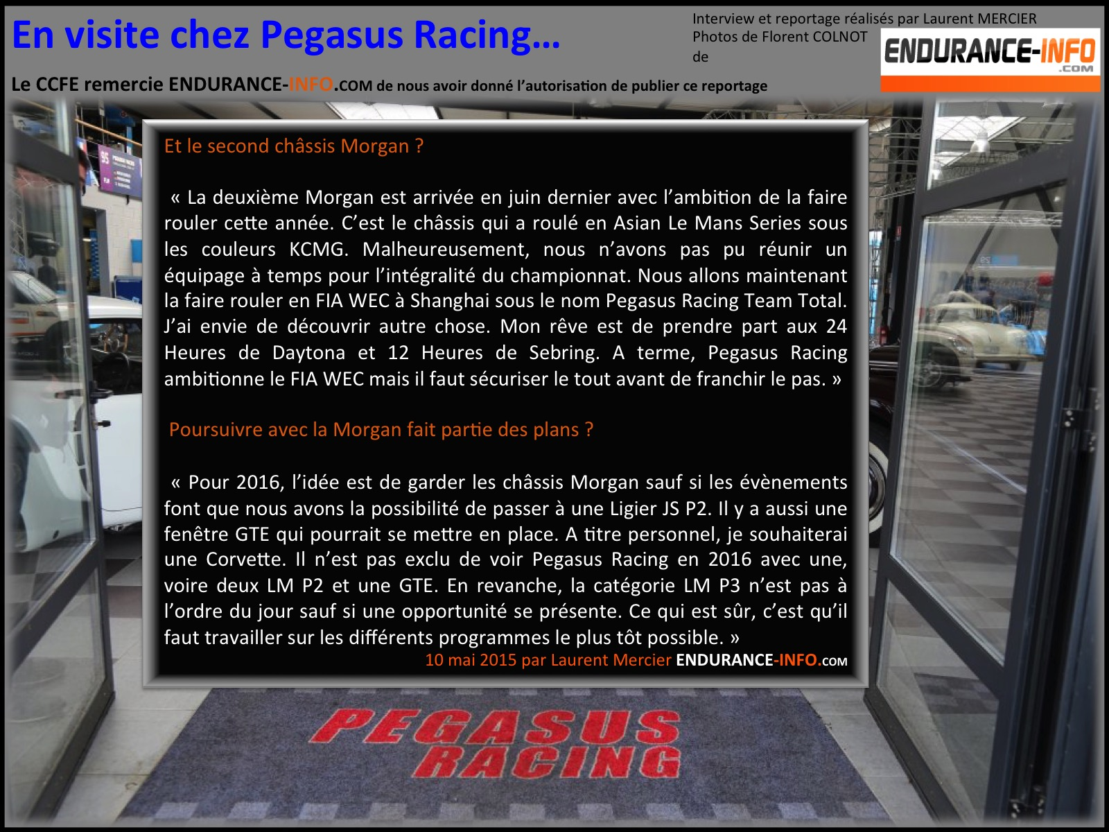 Pegasus racing 13
